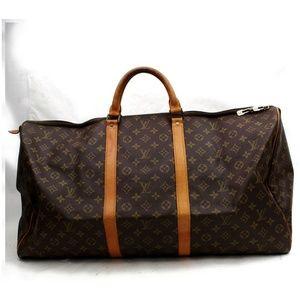 Auth Louis Vuitton Keepall 60 Travel Bag #2407L20